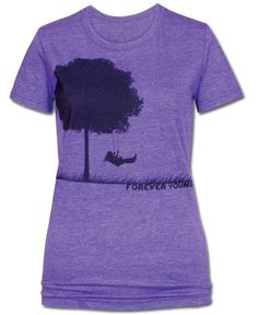 Forever Young Recycled T-Shirt: Soul-Flower Online Store (I <3 this website)