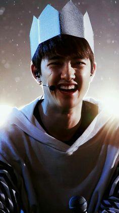 His laugh is the most beautiful thing in the world Kyungsoo, Chanyeol, Exo Ot12, Kaisoo, Exo Group, Exo Lockscreen, Xiuchen, Exo Korean, Photos