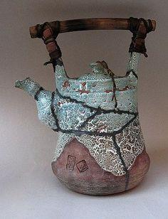 ceramic teapot by alexandr miroshnychenko: