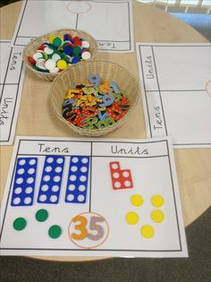 Tens and units Teen Numbers, Math Numbers, Key Stage 1 Maths, Numicon Activities, White Rose Maths, Mastery Maths, Mega Math, Maths Eyfs, Year 1 Maths
