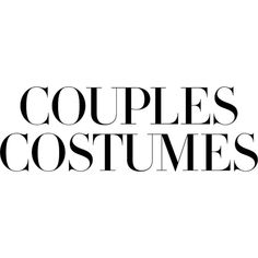 Couples Costumes ❤ liked on Polyvore featuring costumes and couples costumes