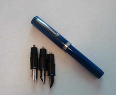 vintage calligraphy pen set sheaffer fountain by TheGayDivorcee, $18.00