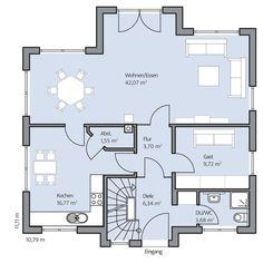 Haus Oswald – Erdgeschoss
