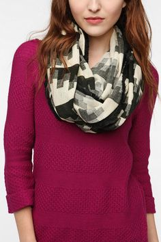 Staring at Stars Wanderer Eternity Scarf  #UrbanOutfitters