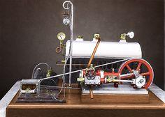 Jensen Steam Engines original 1923 model.