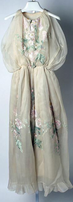 Evening jumpsuit, House of Dior, Designer Marc Bohan, ca. 1965, French, silk