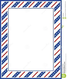 Page borders patriotic flags and old glory on pinterest