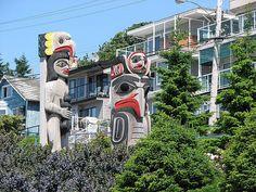 White Rock, BC by Giga Pixels, via Flickr  #whiterock #garymcgrattenrealtor Mc G, Home Alone, British Columbia, Rock Art, The Rock, Coastal, Canada, Lifestyle, Architecture
