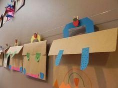 Što sve imamo u torbi Preschool Printables, Preschool Classroom, Preschool Crafts, Back To School Kids, Art School, Crafts For 2 Year Olds, Crafts For Kids, September Themes, School Displays