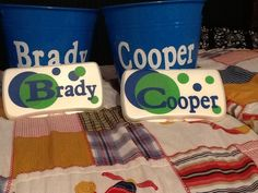 Toddlerbaby snack cups personalized with cricut pins ive personalized baby gifts made with cricut vinyl cut outs negle Choice Image