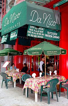 Da Nico- One of Our Favorite Restaurants in Little Italy! #KVNY
