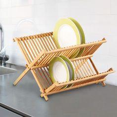 Nice Bamboo Dish Drainer. Check here: http://goo.gl/cTOa7G