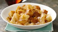 Apple Pie Breakfast Bake Apple pie for breakfast? Prep this morning treat in just 15 minutes and get ready for a perfect start to the morning. From: Pillsbury Recipes Baked Breakfast Recipes, What's For Breakfast, Breakfast Items, Breakfast Dishes, Brunch Recipes, Brunch Foods, Yummy Recipes, Christmas Breakfast, Breakfast Casserole