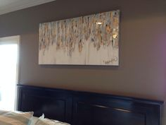 """24""""x48"""" abstract art on canvas by Jenn Meador. Email to order jennmeadorpaint@gmail.com"""