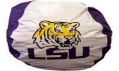 Bon The Northwest LSU Tigers NCAA Bean Bag Chair $52.99 From Bedding.com | NCAA  Bedding | Pinterest | Bean Bag Chair, Bean Bags And Room