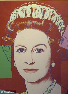 Andy Warhol portraits of the Queen.