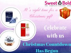 Fell bliss by the Fragnance of our most happening perfumes. Grab the Christmas offer and have the most intense form of memory on others.  Click on the link www.sweetnbold.com/mens-gift-sets and grab it soon before the offer ends on 23 December.  #onlineshopping #USA #brand #sale #discountedprice #cologne #men #scent #fragnance #women #perfume #christmas