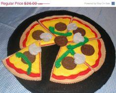 play food felt pizza