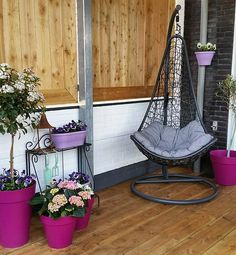 ready for summer, thanks for sharing Nicole #loft #outdoor #cherry