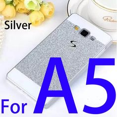Bling Luxury phone case for Samsung Galaxy A3 A5 A7 Shinning back cover Sparkling case for Galaxy A3000 A5000 A700 Gift !