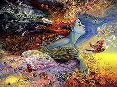 Looking for Josephine Wall Jigsaw Puzzles? You'll find an amazing selection of Josephine Wall puzzles that are ideal for anyone who enjoys fantasy art. Josephine Wall, Norman Rockwell, Gaia, Artwork Fantasy, Dark Artwork, Nature Artwork, Art Couple, Fantasy Anime, Illustration Art Nouveau