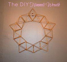 DIY Himmeli Wreath www.designingaround.com