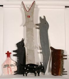 R.A. Millar Fork Art, Outsider Art, Naive, The Outsiders, Folk, Artists, Sculpture, American, Illustration