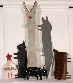 R.A. Millar Fork Art, Outsider Art, Naive, Folk, The Outsiders, Artists, Sculpture, American, Illustration