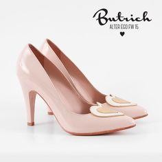 <3 zapato *Kelly* palo rosa <3   Alter Ego / Butrich <3 #corazón #corazones #zapatos #shoe #heart