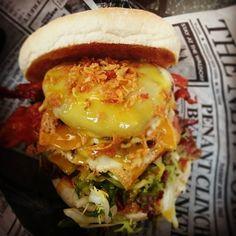 Angus Beef Burger von Lekker Krekker #bbq #lekkerkreker #Burger #foodstagram #burgergram #fingerfood