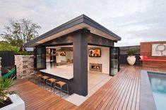ครัวนอกบ้าน ดีไซน์การใช้ง่าย เพื่องานเลี้ยงเล็กๆ « บ้านไอเดีย แบบบ้าน ตกแต่งบ้าน เว็บไซต์เพื่อบ้านคุณ