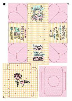 Rope Crafts, Diy And Crafts, Arts And Crafts, Agenda Book, Picnic Box, Love Box, Box Patterns, Diy Box, Anime Chibi