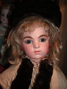 "17"" Bru Jne Antique Doll w/Chevrot Body http://www.dollshopsunited.com/stores/ThreeSistersAntiques/items/1268185/SALE-PENDING-17-Bru-Jne-Antique-Doll-Chevrot-Body #dollshopsunited"