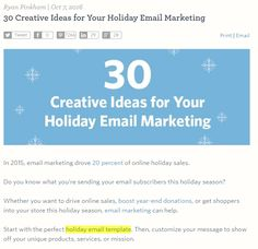 To say that most small businesses aren't using search marketing to their best advantage would be a major understatement. Holiday Emails, Holiday Sales, Do You Know What, Need To Know, Email Marketing, Social Media Marketing, Seo Tools, Show Up, First Page