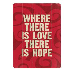 I pinned this Hope Wall Art from the Sweet Finishes event at Joss and Main!