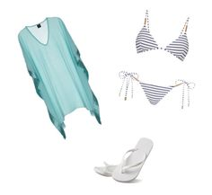 """""""Beach day 🌊"""" by danielamartinez0099 on Polyvore featuring Melissa Odabash and Hotmarzz"""