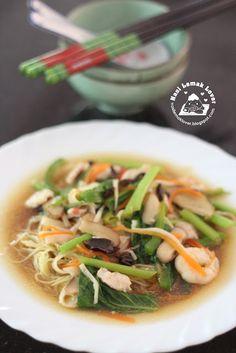 Nasi Lemak Lover: Birthday Longevity Noodles 寿面