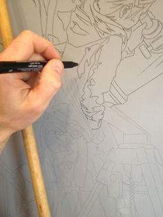 Modern Works & Classical Realism - Transferring a large drawing to canvas Bryan larsen - Painting Lessons, Art Lessons, Painting & Drawing, Painting Tips, Transfer Picture To Canvas, Drawing Techniques, Drawing Tips, Learn Drawing, Drawing Skills
