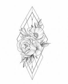 Horizontal auf meinem Oberschenkel - - tattoo old school tattoo arm tattoo tattoo tattoos tattoo antebrazo arm sleeve tattoo Tatto Floral, Floral Tattoo Design, Mandala Tattoo Design, Flower Tattoo Designs, Tattoo Designs For Women, Flower Tattoos, Tattoos For Women, Rose Tattoos, Floral Mandala Tattoo