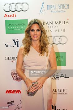 Genoveva Casanova attends the Global Gift Gala 2013 red carpet at Gran Melia Don pepe Resort on August 4, 2013 in Marbella, Spain.