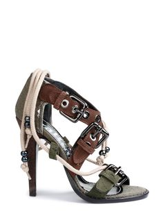 Galliano Shoes olive