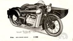 Brough Superior 800 Austin 1932-34