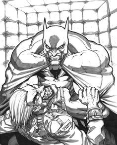 Batman & Joker by Eddie Nunez Comic Art