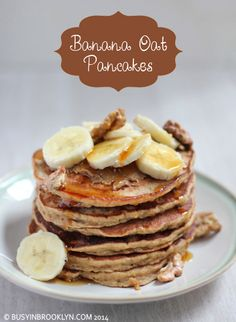 Busy in Brooklyn » Blog Archive » Banana Oat Pancakes