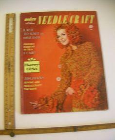 Fashion SWEATERS Knitting Patterns 1967 Style Modern Needle Craft 50 dress suits #1967ModernNeedleCraftvol50fallwinter