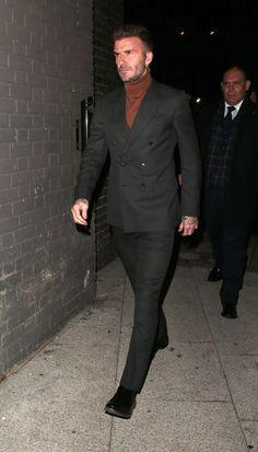 David Beckham Suit, David Beckham Style, Stylish Men, Men Casual, Blazer Outfits Men, Gentlemen Wear, Designer Suits For Men, Herren Outfit, Mens Fashion Suits