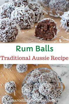Candy Recipes, Baking Recipes, Dessert Recipes, Delicious Desserts, Xmas Food, Christmas Cooking, Rumballs Recipe, Christmas Treats, Christmas Recipes