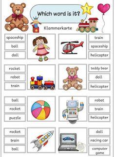 "Ideenreise: Klammerkarten ""toys"""