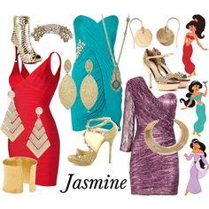 """Jasmine - Aladdin"" by survivingtwentytwelve on Polyvore"
