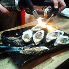 blowtorch oyster - Google Search